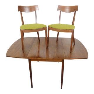 Drexel Declaration Dining Table & Chairs Kipp Stewart Mid Century Modern Set