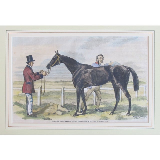 Original British Equestrian Print, Circa 1860 - Image 2 of 3