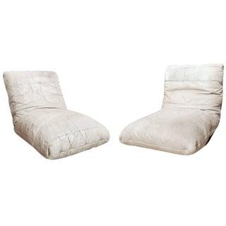 Pair of Italian Mid-Century Lounge Chairs