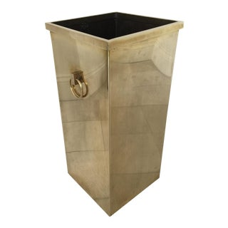 Modern Brass Umbrella Stand