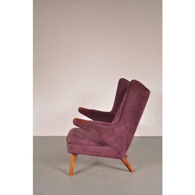 """""""Papa Bear"""" Chair by Hans J. Wegner for A.P. Stolen, Denmark, circa 1950 - Image 4 of 8"""