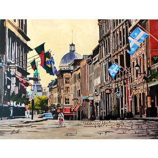 'Old Montreal' Art Print