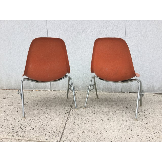 Image of Herman Miller 1960s Fiberglass Chairs - Set of 4