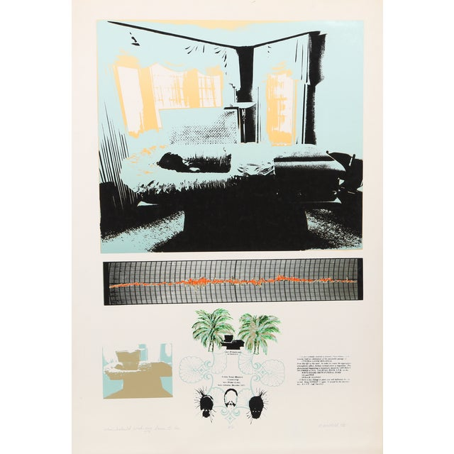 Cindy Wolsfeld Silkscreen Print - Image 1 of 2