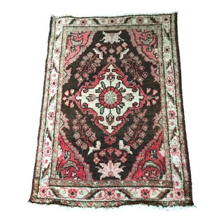 Neutral Tone Persian Rug - 2′8″ × 3′10″