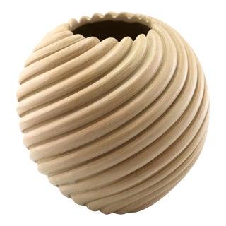 Damian Toya - Jemez Swirl Melon Jar, circa 2000