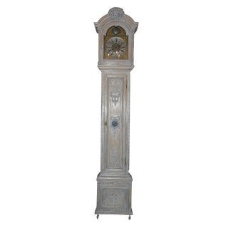 French Bleached Grandfather Clock