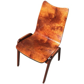 Mid Century Chet Beardsley Bent Plywood Chair