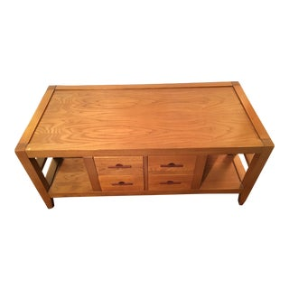 Eight Drawer Coffee Table