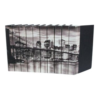 Image Collection 'Brooklyn Bridge' Books - Set of 10