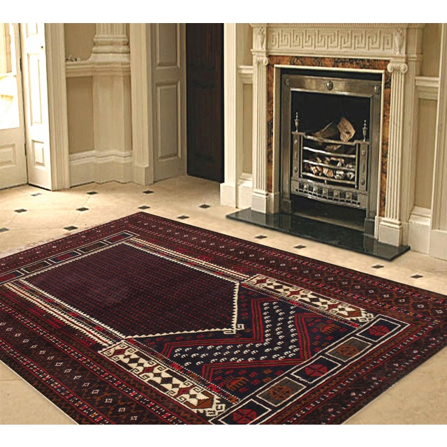 """Pasargad Balouch Collection Rug - 2'9"""" X 4'7"""" - Image 2 of 2"""