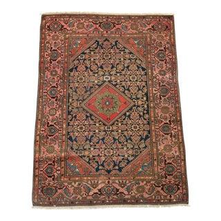 Antique Persian Malayer Rug - 4′10″ × 6′6″