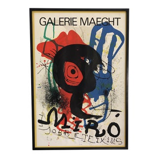 Mid-Century Joan Miró Lithograph Poster