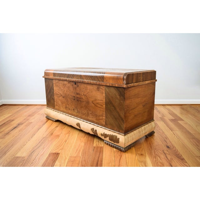 Image of Art Deco Lane Cedar Chest Trunk