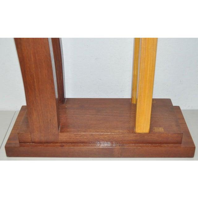 Dia Ates Hardwood Pedestal - Image 3 of 8