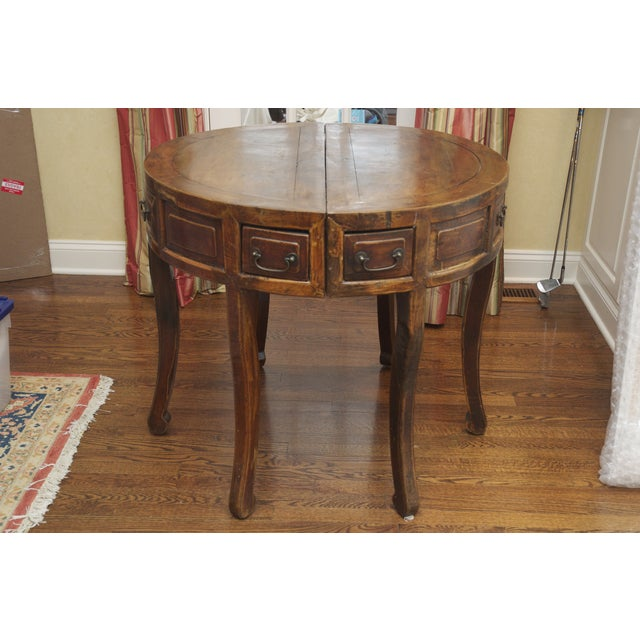 Image of Demi Lune Tables or Round Accent Table - Set of 2