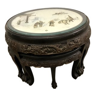Chinese Round Coffee Table