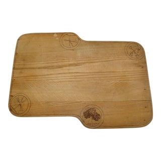 Artisan Wood Block Kitchen Cutting Board