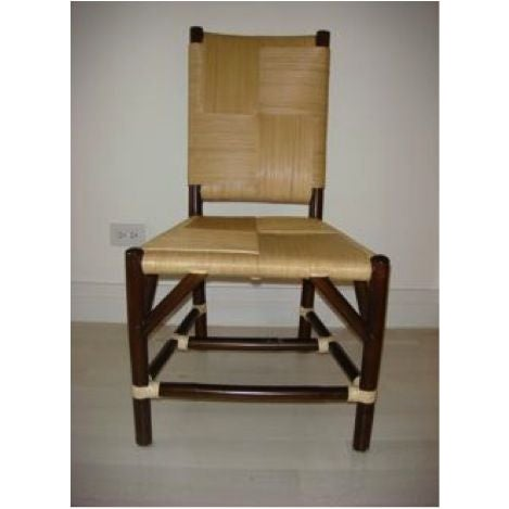 Donghia Rattan Side Chair - Image 2 of 2