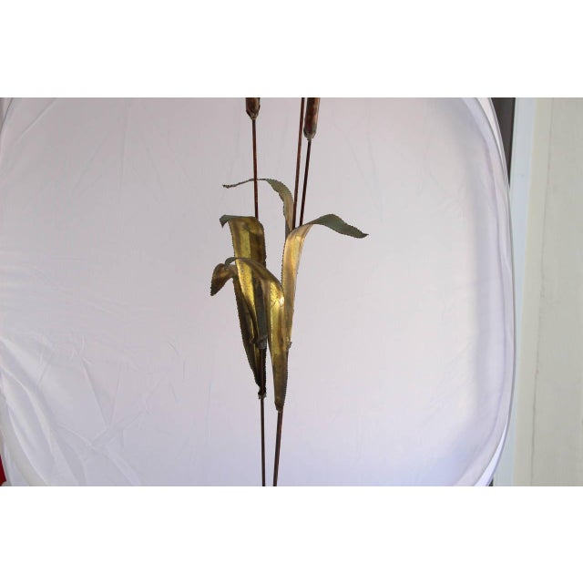 Mid-century Jere Cattail Sculpture - Image 2 of 5