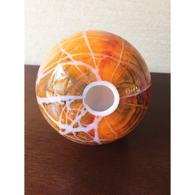 Mid Century Blown Glass Egg Paperweight - Image 4 of 4