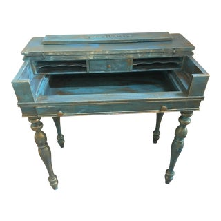 Vintage Flip Top Writing Desk