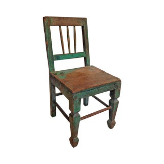 1940s Rustic Children's Chair