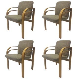 Bentwood Chairs In The Manner of Alvar Aalto - Set of 4