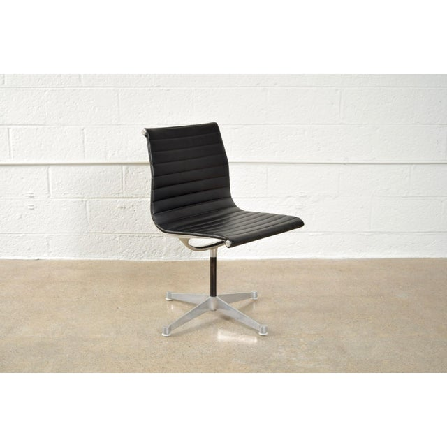 Original Eames for Herman Miller Aluminum Group Side Chair - Image 4 of 11