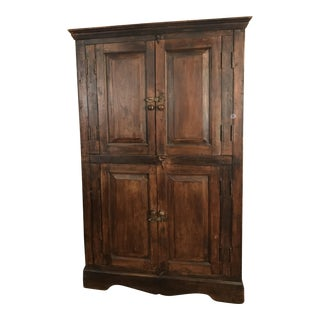 Dark Wood TV Cabinet/Armoire