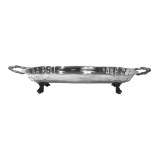 Silverplate Oval Bread Tray