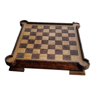 Wooden Hand Carved Chess Board
