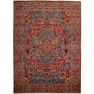 "Ziegler, Hand Knotted Area Rug - 7' 10"" X 10' 9"""