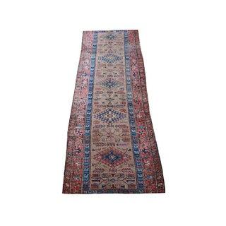 "1900's Antique Persian Sarab Runner - 3'4"" x 11'3"""