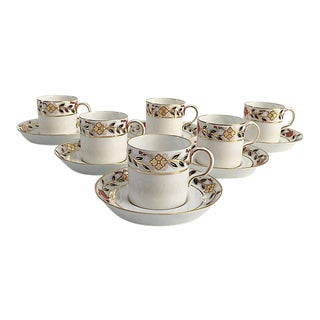 Royal Crown Derby for Tiffany & Co. Cups & Saucers - Set of 12