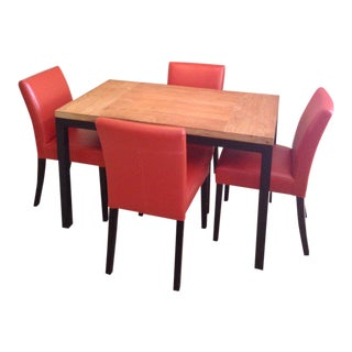 Crate & Barrel Table & Chairs