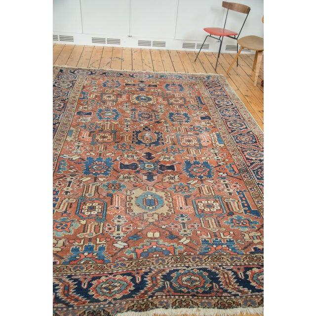 Vintage Heriz Carpet- 7′4″ × 10′1″ - Image 4 of 10