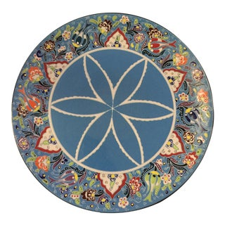 Turkish Handmade Porcelain Plate