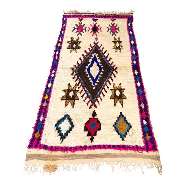 Vintage Moroccan Azilal Rug - Image 1 of 6