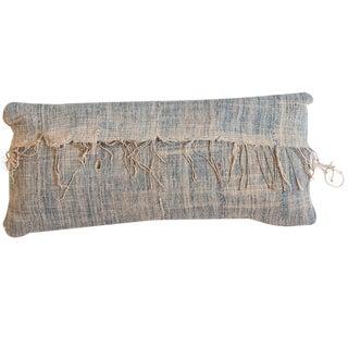 African Indigo Handmade Pillow