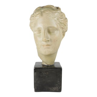 1960s Classical Roman Style Female Bust