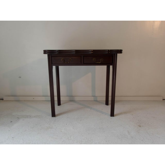Vintage Mahogany Game Table - Image 2 of 7