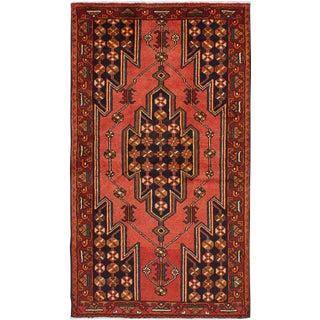 """Vintage Kurdish Rug, 4'2"""" x 7'6"""""""