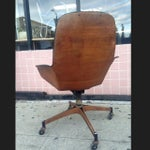 Image of Tufted Plycraft Desk Chair