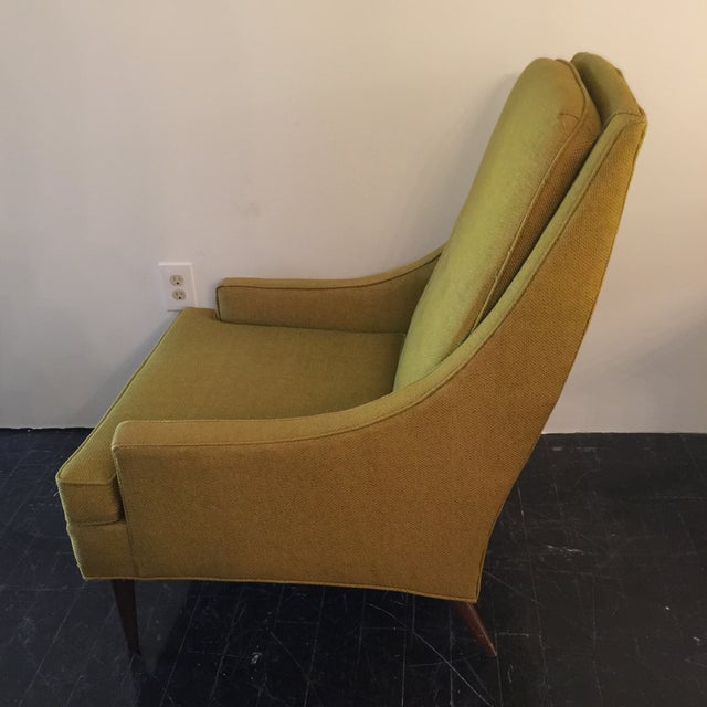 Midcentury Modern High Back Arm Chair - Image 3 of 8