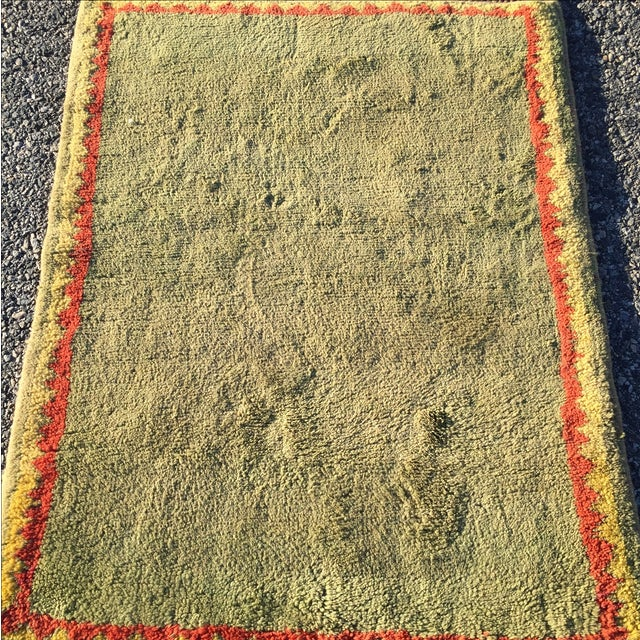 "Turkish Handmade Wool Rug - 2'10"" X 3'8"" - Image 3 of 7"