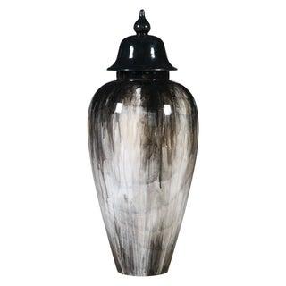 Ash Gradient Wooden Urn