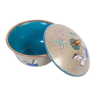 Modernist Cloisonne Bowl from China