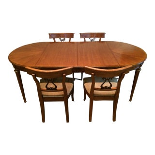 Mid-Century Neoclassical Henrendon Dining Set