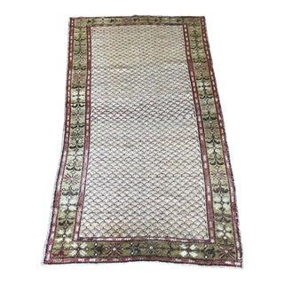 """Vintage """"Turkish Tiles"""" Turkish Rug - 3'8""""x6'3"""""""